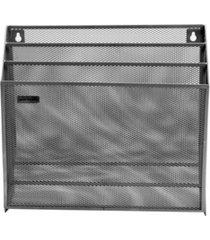 mind reader mesh 3 tier wall file holder