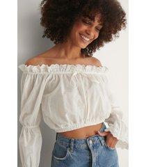 trendyol blus - white