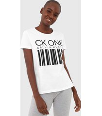 camiseta calvin klein underwear lettering branca - branco - feminino - algodã£o - dafiti