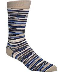cole haan men's random-stripe socks