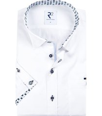 korte mouwen shirt wit r2