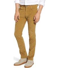 men's vintage 1946 modern fit stretch corduroy pants, size 40r - beige