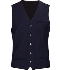 breck stretch gilet blauw matinique