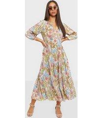 y.a.s yasbotanica 3/4 long dress s. loose fit dresses