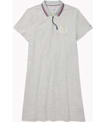 tommy hilfiger adaptive women's extended-zipper polo dress