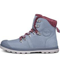 botas gris claro palladium 95140-278