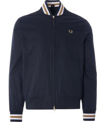 fred perry tennis bomber jacket | black | j1532-102