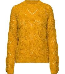 onlhavana l/s pullover knt noos stickad tröja gul only