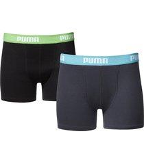 puma jongens boxershorts 2 pak 525015001 - 376-128