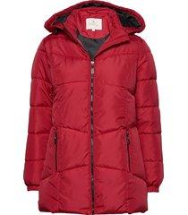 jacket outerwear heavy fodrad rock röd brandtex