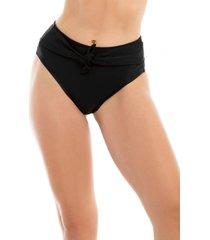 bikini calzón con amarra negro samia