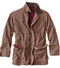 classic barn coat, chocolate, x large