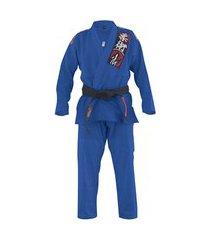 kimono jiu jitsu naja choke azul royal