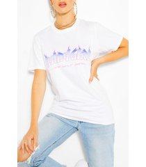 babygirl flame print t-shirt, white