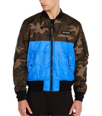 avirex men's reversible bomber jacket