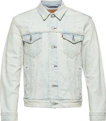 the trucker jacket pale shade jeansjacka denimjacka blå levi´s men