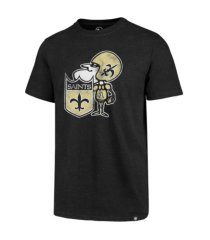 '47 brand new orleans saints men's throwback club t-shirt