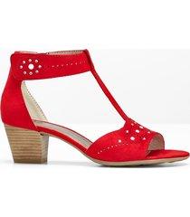sandalo comodo (rosso) - jana