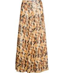 galina skirt lång kjol orange ba&sh