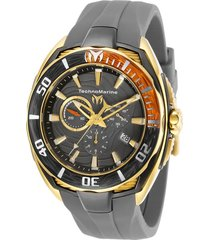 reloj  technomarine gris modelo tm-1180kr para hombre, colección cruise