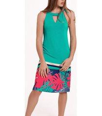 jurk lisca mouwloze zomerjurk tahiti