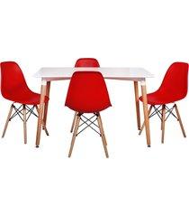 conjunto mesa de jantar império brazil eiffel