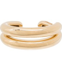 adina reyter 9kt yellow gold chunky ear cuff