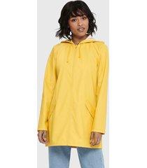chaqueta jacqueline de yong amarillo - calce regular