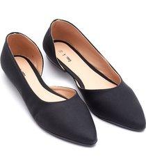 baletas negras color negro, talla 39