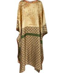 pierre-louis mascia oversized fit long caftan dress