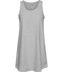 night dress tilda striped nattlinne grå lindex