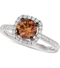 le vian chocolatier diamond statement ring (1-1/4 ct. t.w.) in 14k white gold