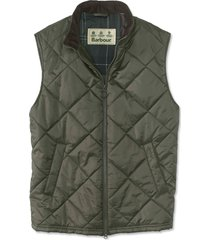barbour finn gilet, olive, xx large
