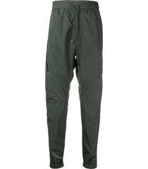c.p. company chrome-r garment dyed track pants