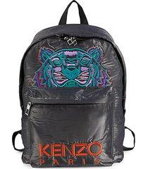 embroidered tiger backpack