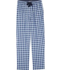 men's nordstrom men's shop poplin pajama pants, size xx-large - blue