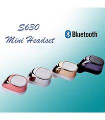 audífonos bluetooth deportivos inalámbricos, mini auricular audifonos bluetooth manos libres  sin manos auricular manos libres auricular intra-auricular (plata)