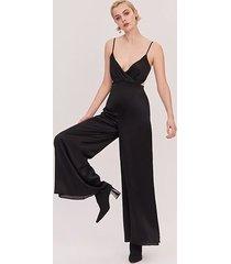 black the selena jumpsuit