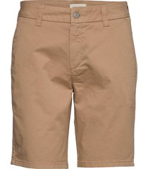 slfmegan mw shorts w shorts chino shorts beige selected femme