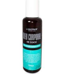 oleo corporal de coco 120ml labotrat