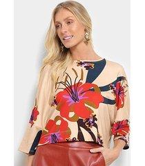 blusa cantão mullet cecília feminina