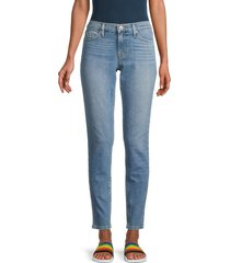 hudson women's krista super skinny jeans - light blue - size 28 (4-6)