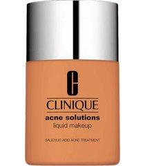 anti-blemish solutions liquid makeup clinique - base liquida fresh golden