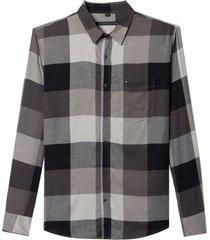 camisa john john dimitri xadrez masculina (xadrez, gg)