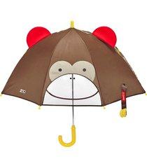guarda chuva macaco skip hop marrom - tricae