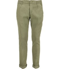 dondup gaubert - slim-fit linen trousers