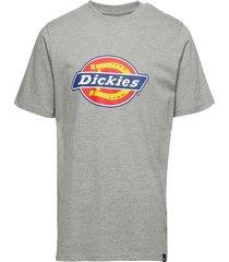 horseshoe tee t-shirts short-sleeved grå dickies