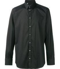 dolce & gabbana classic formal shirt - black