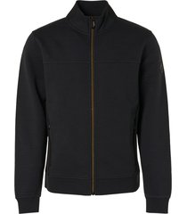 no excess 97100817 zip layer jacquard vest black 020 no-excess