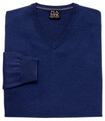 traveler washable merino wool v neck men's sweater - big & tall